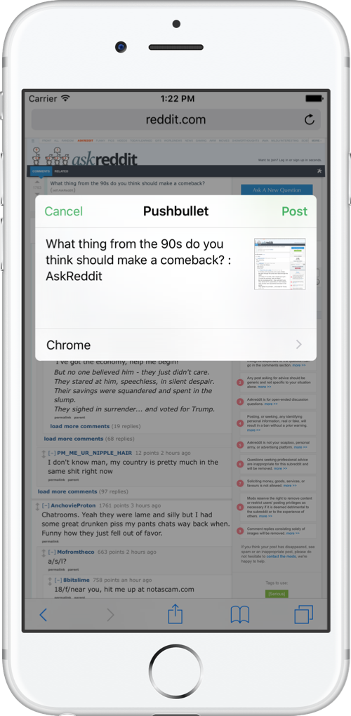 A Fresh Start For Pushbullet On iOS | Pushbullet Blog