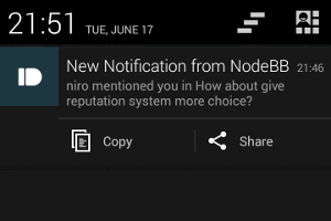 NodeBB Is Now The First Forum Software To Offer Push Notifications