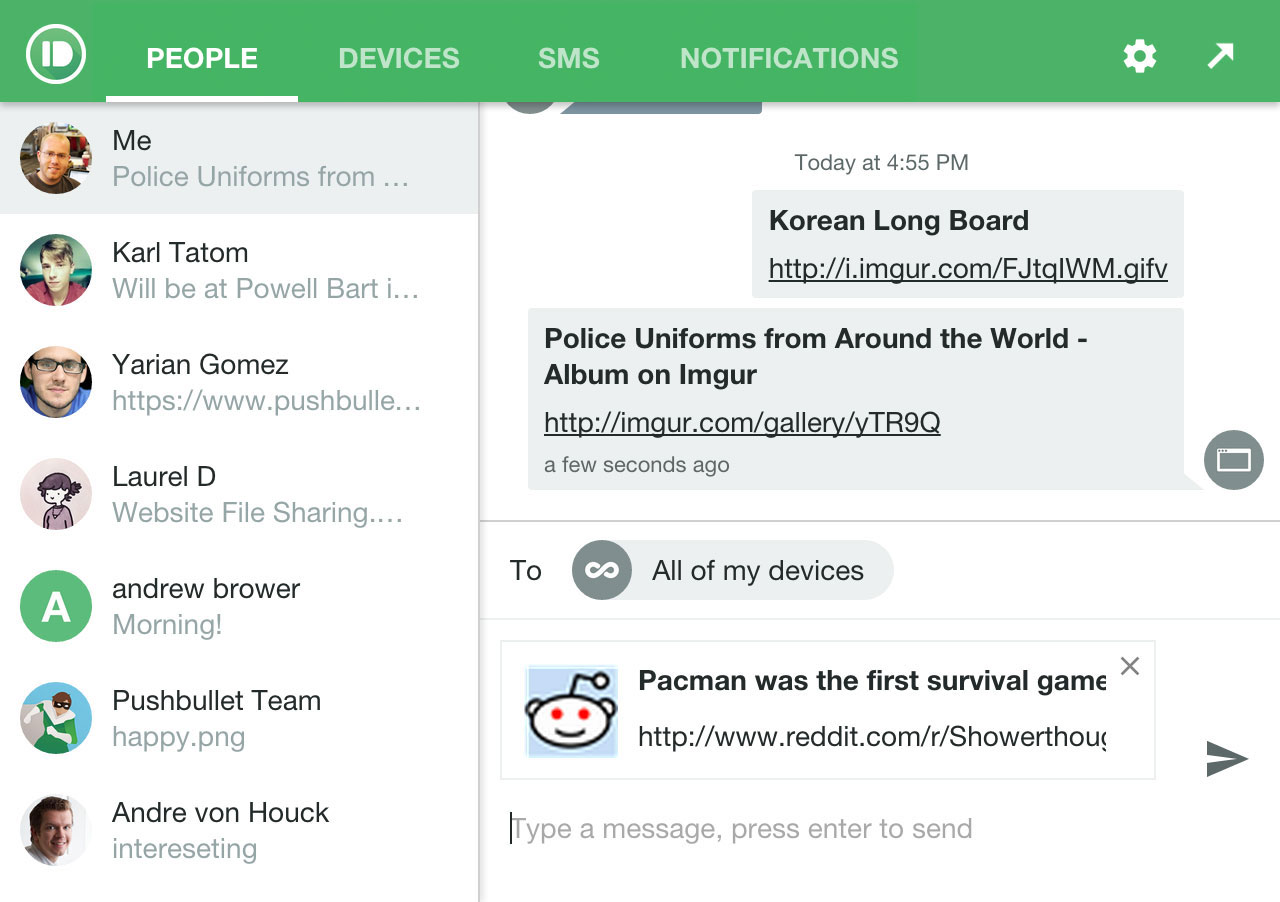 Meet The New Pushbullet | Pushbullet Blog