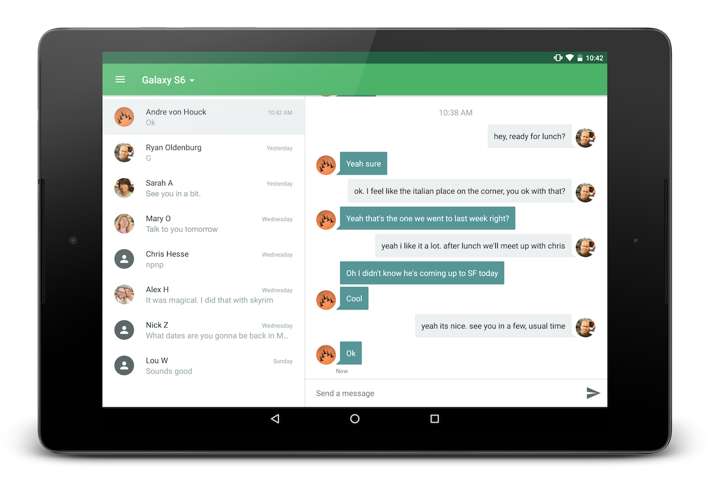 Send Texts From Your Tablet | Pushbullet Blog